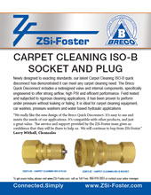 ZSi-Foster Carpet Cleaner Socket and Plug
