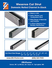 ZF-Cut Strut Catalog